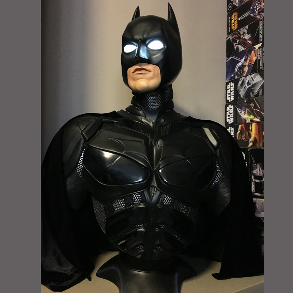 New 1/1 Scale Super Hero Batman v Superman: Dawn of Justice Batman Bust Statue (LIFE SIZE) Avengers Recast семен скляренко владимир книга 2 василевс