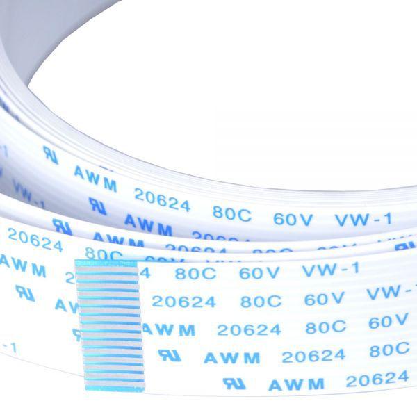 Roland SP-540V / VP-540 2700mm long 1.6cm wide 15 pins CABLE CARD 15P1 2570L BB 23475238 roland vp 540 rs 640 vp 300 sheet rotary disk slit 360lpi 1000002162 printer parts