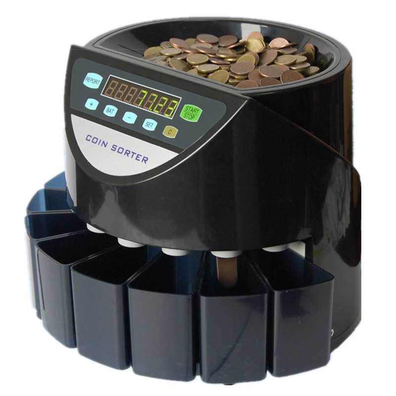 Professional portable Automatic Coin Counter and Sorter