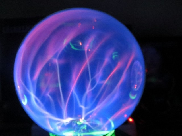 40inch Plasma Lightning Ball Static Magic Ball Lights Electric Adorable Halloween Crystal Ball Decoration