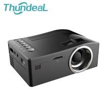Unic UC18 Mini Projecteur Portable LED Pour Home Cinéma Jeu Beamer Proyector Projetor SD HDMI AV USB Haut-Parleur Intégré