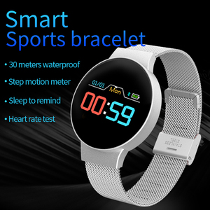 Image 3 - Дропшиппинг дешевые BluetoothSmart часы для Android/IOS iPhone водонепроницаемый сенсорный экран Спорт Здоровье Смарт женские наручные часы