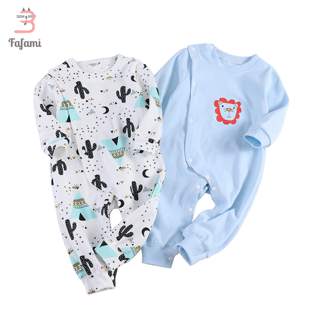 09b501ebb688 Baby clothes Newborn romper jumpsuit baby boy rompers baby girl ...