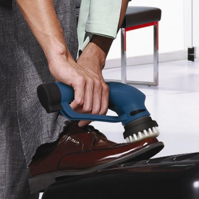 Hand-held electric household shoe polisher shoe polisher shoes a good helper