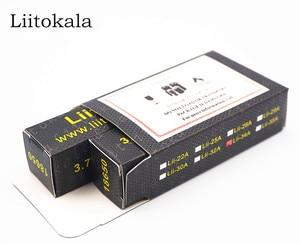 Image 5 - 2020 LiitoKala Lii 35A 3.7V battery 18650 3500mAh  10A Discharging Rechargeable Batteries 18650 Battery