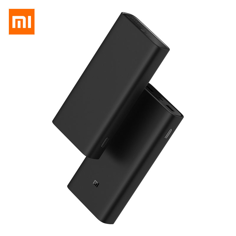 Xiao mi Original 20000 mAh batterie externe 3 mi Powerbank PLM07ZM double sortie USB USB-C 45 W chargeur rapide bidirectionnel batterie d'extension