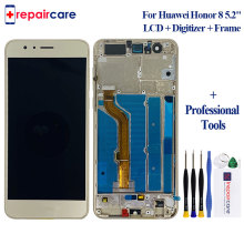 For Huawei Honor 8 LCD Display Touch Screen Digitizer 5.2 With Frame FRD-L19 FRD-L09 Replacement