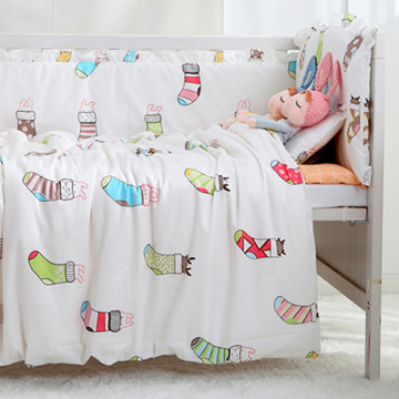 Promotion! 9PCS Lovely bedding baby boy crib bedding kit 100% cotton crib set Baby Bedding Sets,4bumper/sheet/pillow/duvet