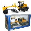 Kaidiwei 1:35 escala modelo diecast metal para la construcción vehículos motoniveladora camión toys for kids niños