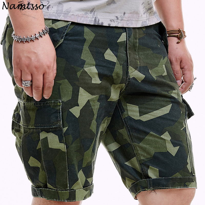 Camouflage Camo Cargo Shorts Men 2018 New Mens Casual Shorts Male Loose Work Shorts Man Military Short Pants Plus Size 36-48 minions the doodle book