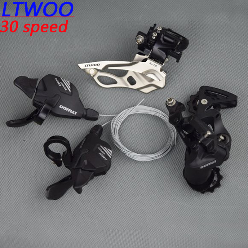 LTWOO bike bicycle mtb 10speed shifter rear Derailleurs Groupset for 30speed m610 m670 m780 Parts system bicycle mtb 3x10 30 speed front rear shifter derailleur groupset for shimano m610 m670 m780 system