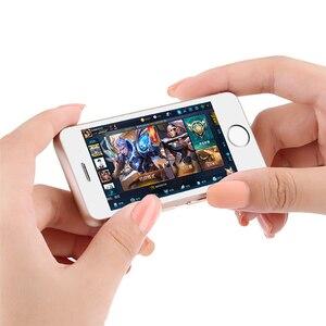 Image 3 - Kleinste android telefon Melrose S9 S9P 3G WIFI Ultra slim mini handy MTK6580 Quad core handys für kinder kinder