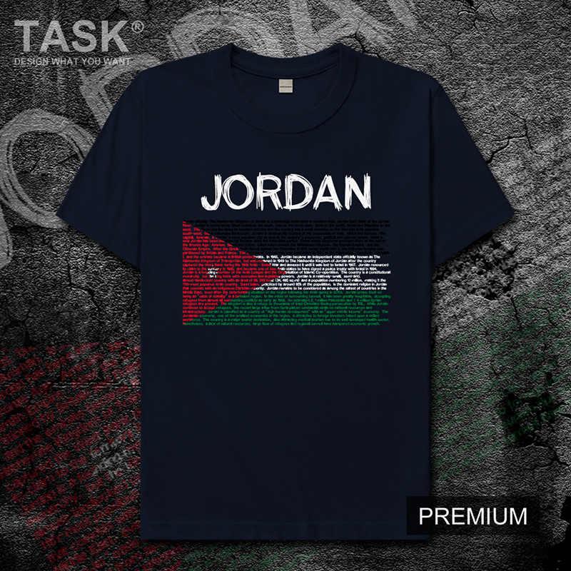 Jordan Jordanian JOR Arabic Arab mens t shirt new Tops t-shirt Short sleeve clothes sweatshirt national team country Fashion