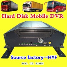 Original Factory AHD MOBILE DVR Support Language Customization Requirements 4-Channel Hard Disk Car Video Recorder