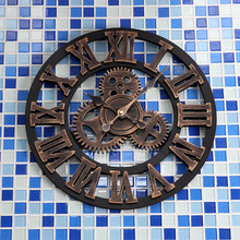 European Silent Modern Design Decorative Hanging Wall Clock Livingroom Watches
