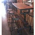 Американский кантри сделать могут быть настроены комплект столы и стулья сочетание творческое сочетание бар - кафе столовая