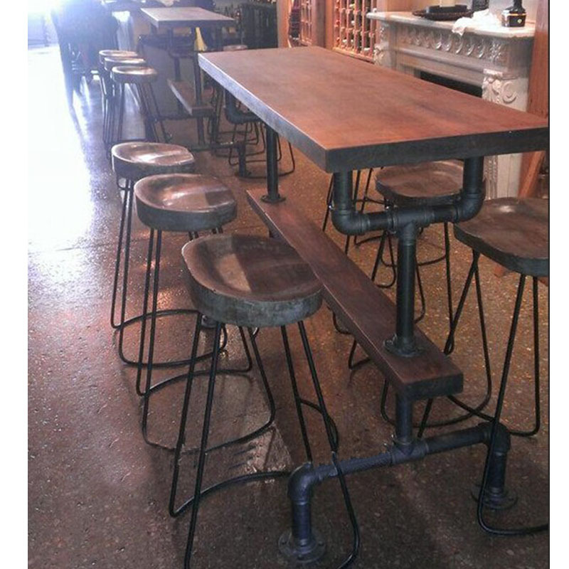 American country to do the old can be customized sets of tables and chairs combination of creative combination bar-caf dinette