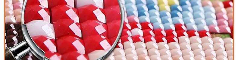 DIY 3D Алмазная Живопись Швейные Стразы Кристалл Искусство ремесло пластиковый холщовый домашний декор Горный дом у реки
