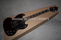 2014 Hot selling G-LP Guitar SG400 Black Pickguards 6 Strings Electric Guitar free shipping Factory Price