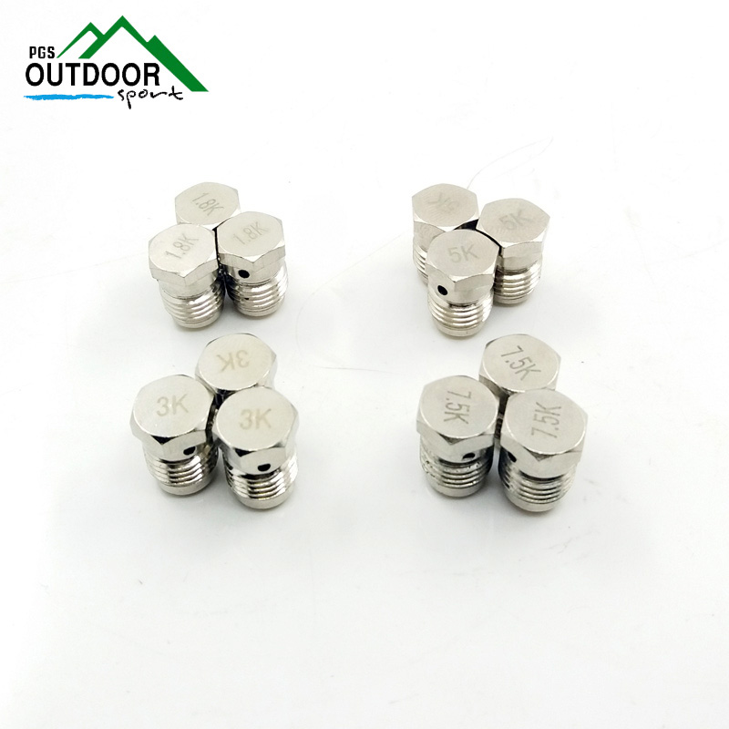 Paintball Airgun PCP 3pcs Burst Disks 1.8k 3k 5k 7.5k For Compressed Air Co2 Tank Regulator Valve