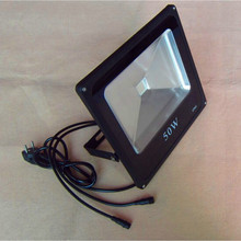 50 Вт RGB поток света dmx, AC85-265V вход; может управляться dmx контроллер напрямую; Размер: L288XW282XH65