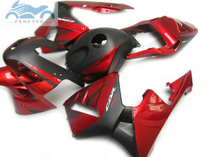 Image 2 - ABS plastic Injection fairing kit fit for Honda CBR600RR 03 04 CBR 600 RR 2003 2004 aftermarket  fairing kits red black NY04