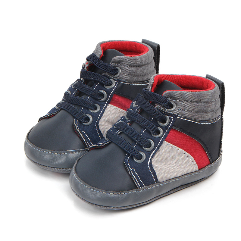 Fashion Soft Sole Baby Shoes Moccasins Newborn Infant Baby Boys Shoes 0-18M Toddler Shoes For Newborns Baby First Walkers
