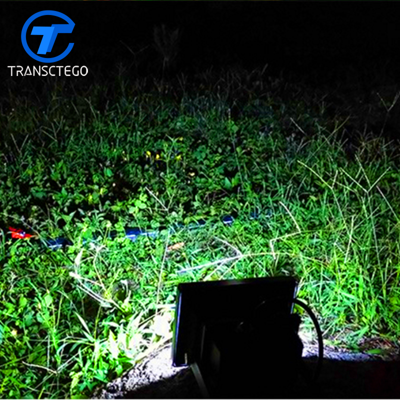 Out Door Waterproof Led Solar Lamp Ip65 6W LED Flood Lamp Solar Charging Powered Light Dependent Control Flood Light solar powered 6w 100 led rgb light water resistant flexible tube light white black