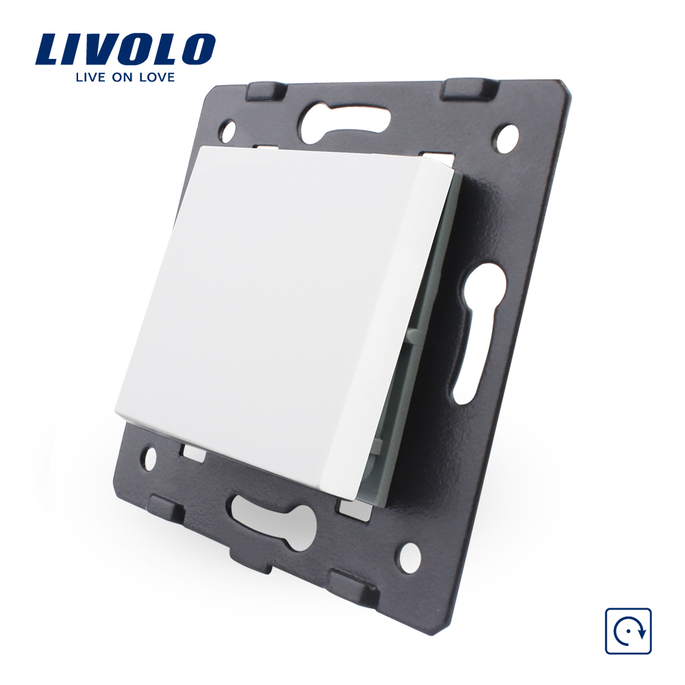 Livolo EU Standard Reset Function Key For Wall Push Button Switch, 4 Colors ,Plastic Materials, C7-K1H-11/12/13/15