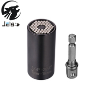 Jelbo Power Drill Adapter Drill Tools Uiversal Socket Adapter Power Drill 2pcs Bits Set Adapter Set