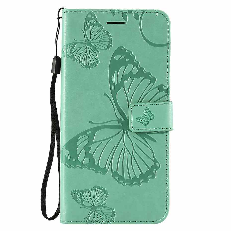 360 Magnetic Full For Xiaomi Mi Play A2 8 Lite Focophone F1 Wallet Case For Redmi Note 7 6 Pro Leather 3D Butterfly Flip Cover