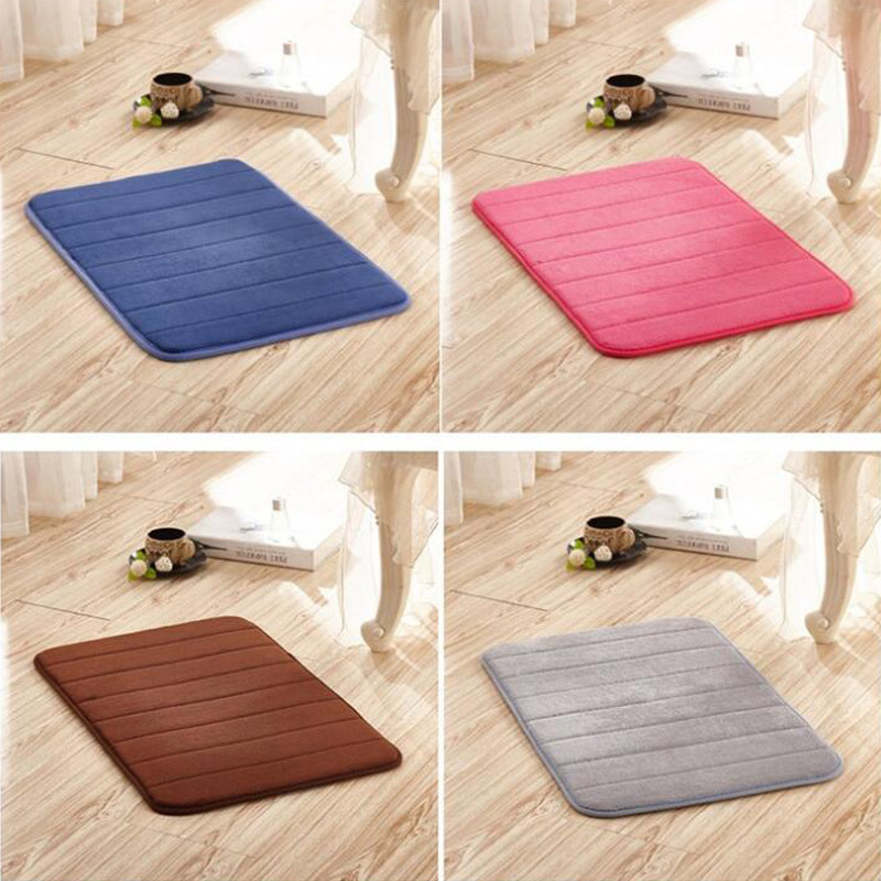 Household Carpet Thick Coral Fleece Rugs Slow Rebound Three dimensional Stripe Pattern Floor Non slip Mats|Rug| |  - title=