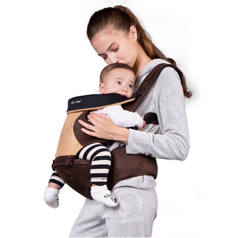 цена на baby carrier 2-30 Months Breathable Front Facing Baby kangatoo Infant Comfortable Sling Backpack Pouch Wrap