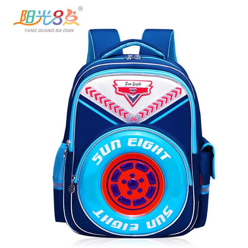 2017 Neue 3 D Kinder Taschen Hochwertigem Nylon Wasserdichte Schule Rucksäcke Für Jungen Kinder Taschen Studenten Taschen Kinder Trvel Taschen-laptop-tasche Rucksäcke