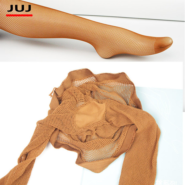 Latin stocking  toe pantyhose transparent core wire black 1