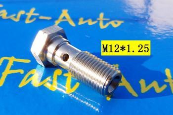 M12 p1.25 m12 * 1.25 m12 x 1.25 banjo parafuso adaptador de freio tpfe ptfe mangueira de freio montagem