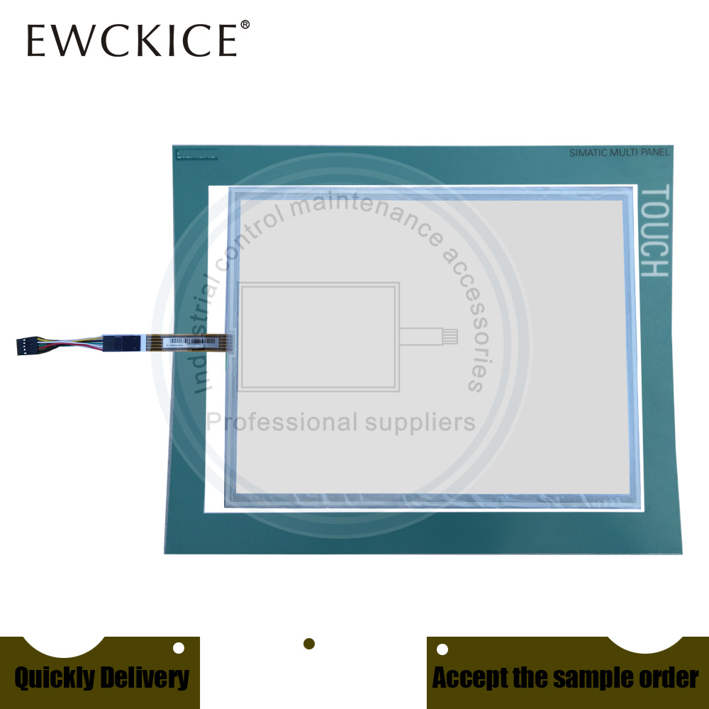 NEW 6AV6 644-0AB01-2AX0 MP377-15 6AV6644-0AB01-2AX0 HMI PLC Touch screen AND Front label Touch panel AND Frontlabel