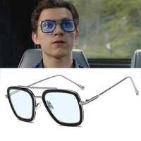 Spider-Man loin de chez lui Peter Parker lunettes Edith Cosplay Prop SpiderMan lunettes de soleil Iron Man Tony Stark lunettes de soleil homme