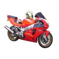 Heißer verkauf ABS verkleidungen für Kawasaki ZX7R Ninja 1996-2003 1997 1998 aufkleber 97 98 99 rot verkleidung kit 7 geschenke xl17