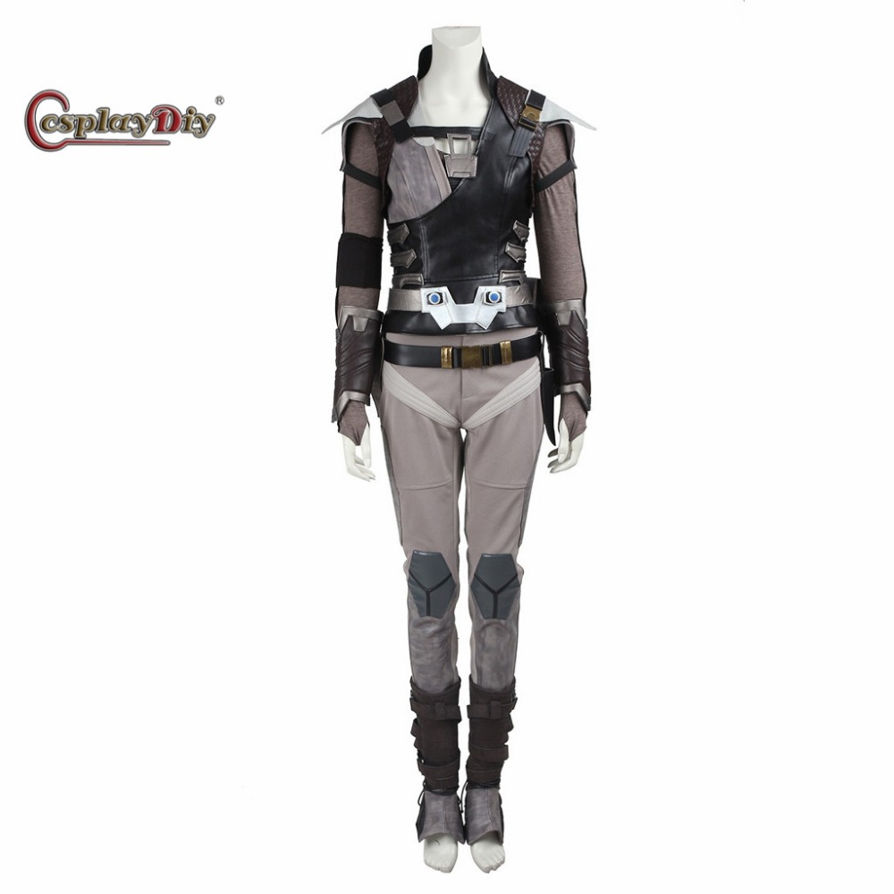 Cosplaydiy Custom Made Star Trek Beyond Jaylah Adult Women Halloween Carnival Cosplay Costume J5