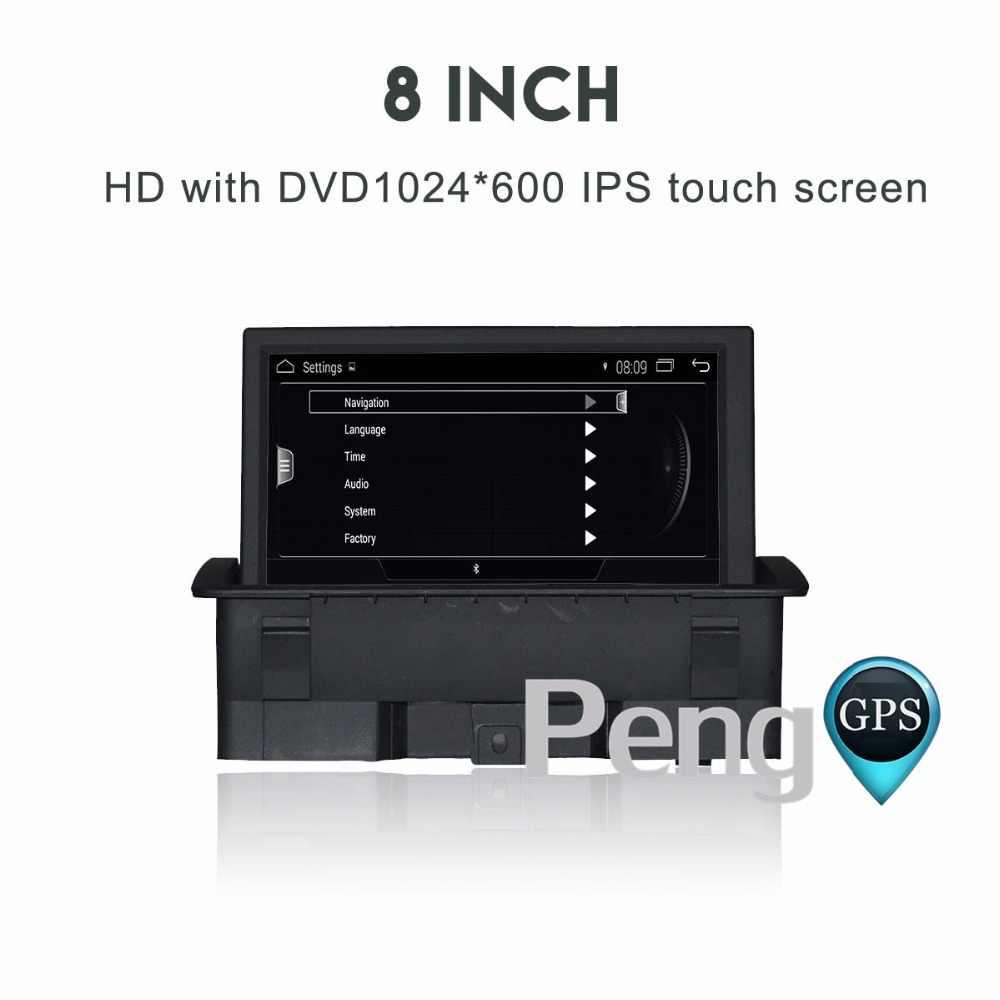 クアッドコア CD DVD プレーヤー 2 Din ステレオアンドロイド 4.4 カーラジオアウディ A1 2010-2017 GPS ナビゲーション autoradio ヘッドユニット WIFI FM OBD