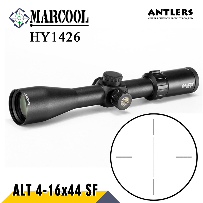 MARCOOL ALT 4-16X44 SF Hunting rifle scope air gun Airsoft Optical Sight Riflescope Sniper include mount cover for rifle scope marcool alt 4 5 18x44 sfl with big wheel hunting optical sight airsoft air guns scopes riflescope for pistola airsoft air guns