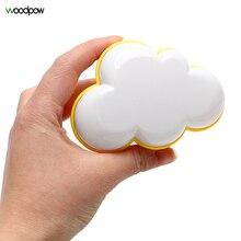 Woodpow Creative Cloud Lichtsensor Controle Led Nachtlampje Socket Nightlamp Kinderen Slaapkamer Bedlampje Eu/Us Plug Led licht