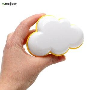 Image 1 - Woodpow kreatywna chmura kontrola czujnika światła LED noc gniazdo elektryczne lampka nocna dzieci lampka nocna do sypialni ue/usa wtyczka LED Light