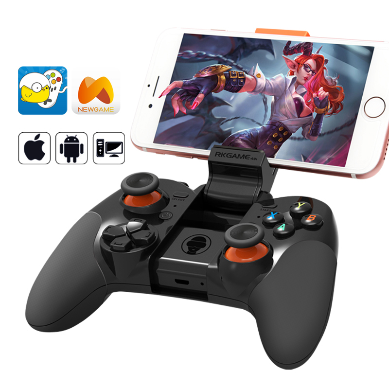 Wireless Bluetooth Gamepad 2.4Ghz Wireless Game Controller Gamepad for Android Cell Phone/PS3/Tablet PC for IOS iCade