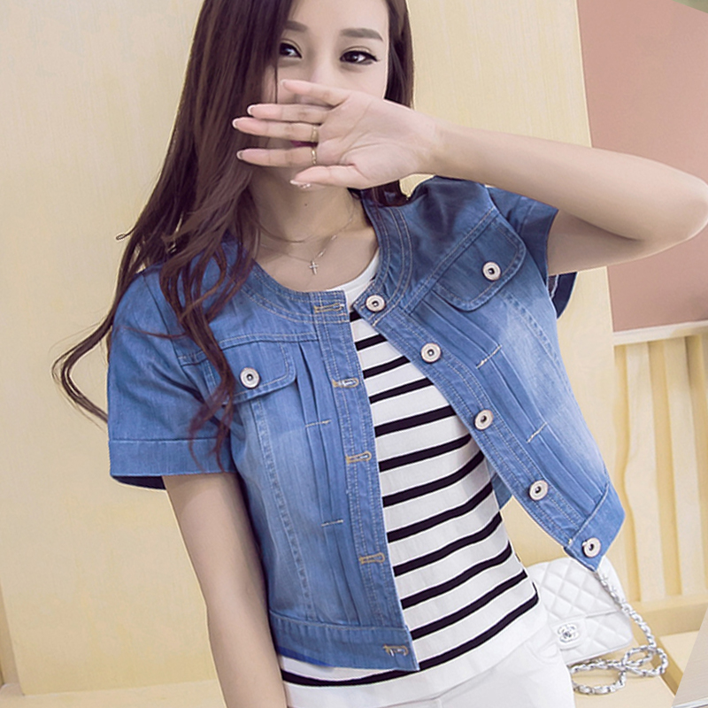 Aliexpress.com : Buy 2017 New Spring Summer Short Denim Jackets ...