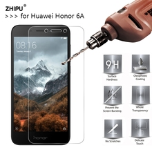 2.5D 0.26mm 9H Premium Tempered Glass For Huawei Honor 6A Screen Protector Toughened protective film For Honor 6A