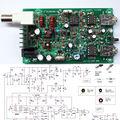 PIC Version 8W Super RM RockMite QRP CW Transceiver HAM Radio Shortwave kits
