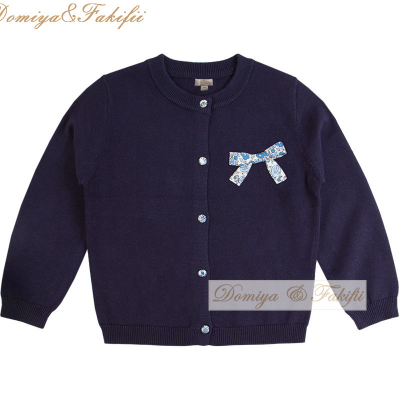 eec863647 2018 Brand Fashion Baby Children Clothing Boys Girl Bow Navy Knitted ...