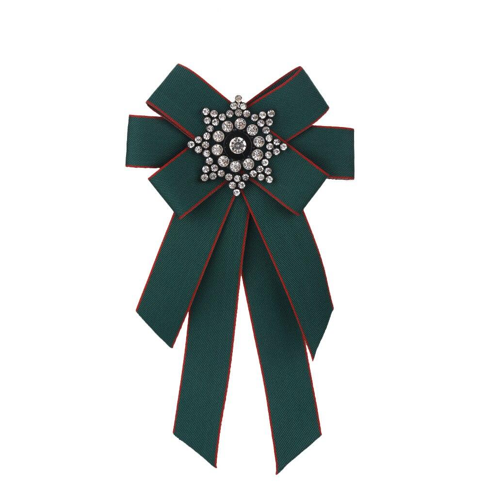 Entusiasta Coreano Di Stile Del Legame Di Arco Del Legame Di Arco Del Legame Del Fiore Spilla Di Strass Abbigliamento Bow Tie Ritardare La Senilità